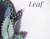 Bead Pattern Leaf – PDF instruction for personal use only