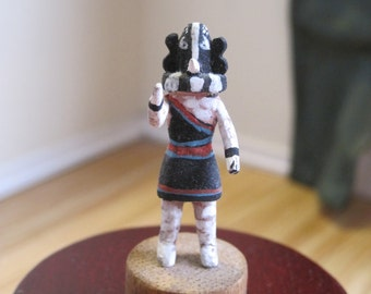 Vintage Miniature American Indian Kachina  ~ Handcarved and Painted