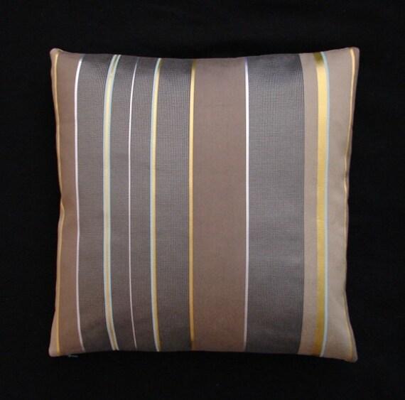 Maia Modern Pillows : Hella Jongerius Maharam Textiles Repeat Stripe Inca