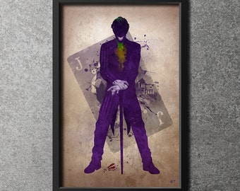Original Giclee Art Print 'The Joker'