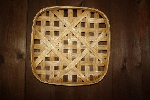Handmade Baskets North Carolina : North carolina reproduction tobacco basket