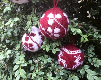 Christmas balls to cheer your tree up
