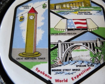 Trivet 1974 Expo Spokane World Exposition