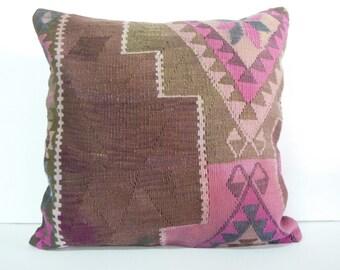 24 Quot Extra Large Big Giant Brown Pink Pillow Kilim Euro Sham
