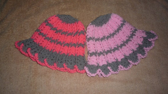 Crochet hat pattern for one to two year old kids