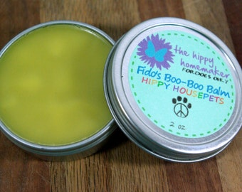 Fido's Salvation Salve  - Natural Healing Salve For Dogs- Hippy Housepets - Eco-Friendly Packaging