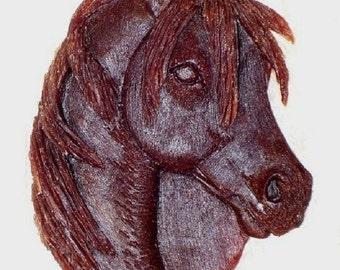 new Design Horse's head...Pride..........