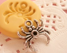 Spider  Mold Mould Resin Clay Fondant Wax Soap Flexible Mold
