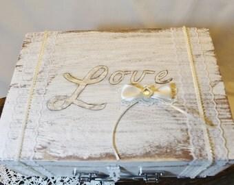 Wine Ceremony Box, Memory Box, Memory Keepsake Box, Card Box, Pesonalized Wine Box