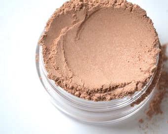 Cream mineral foundation makeup, four in one mineral powder, natural pigments, cruelty free