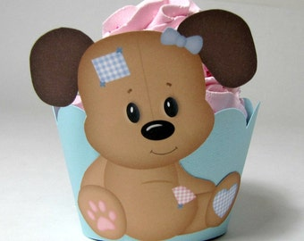 baby shower cupcake wrappers on Etsy, a global handmade