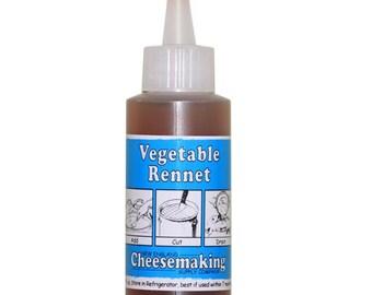 Artisan DIY Cheese Making Liquid Vegetarian Rennet 2 Fluid Ounces For Home Cheese Making