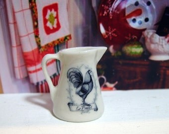 French Style Miniature Jug for Dollhouse 1:12 scale