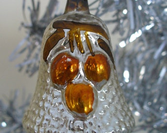 Vintage, Hand Blown, Hand Painted, Bell, Christmas Decoration/Ornament ***