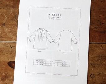 Wiksten Tova Top + Dress Paper Pattern- Wiksten Patterns