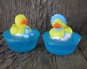 25 Boy or Girl Duckie Glycerin Soap Baby Shower Favors