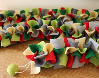 Christmas Felt Garland // Table Decoration (1.5m)