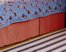 Custom Crib/Toddler Box Pleat Skirt