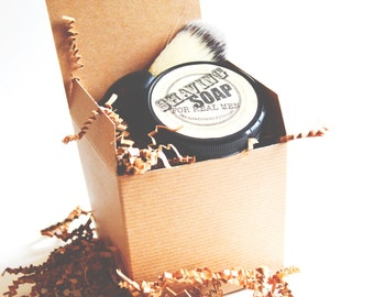 Fathers Day Gift Shaving Kit Gift Set, mens gifts, shaving cream,  shave kit, gifts for dad, grooms mens gifts, shaving soap, shaving brush