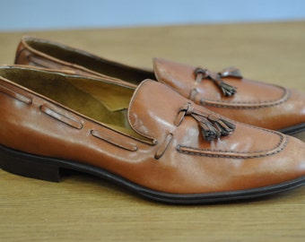 Vintage NERO GIARDINI Italian manufacture mens shoes.....(061)