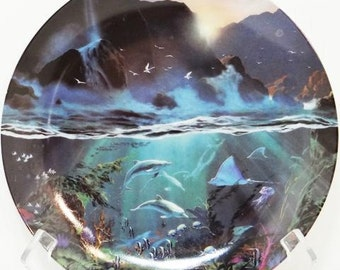 Numbered 1994 The Bradford Exchange Sea Of Light by Dale Terbush Limited Edition Plate