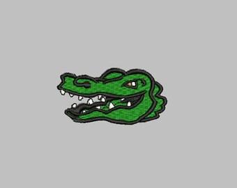 GG1127 Alligator Embroidery Design