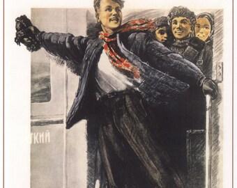 Stalin, Soviet, Propaganda poster, 336