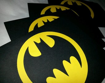 Batman Party invitations  Batman birthday invitations also available in batgirl Handmade Paper invitation