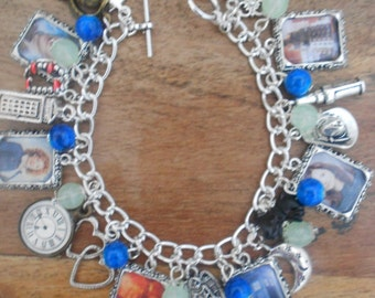 BBC Doctor Who Photo Charms Bracelet