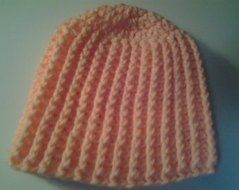 Adult / Teen Crochet Ski Hat / Beanie