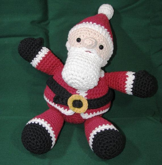 Tiny Crochet Doll Patterns : Amigurumi Crochet Pattern Easy Holiday Christmas Santa Claus