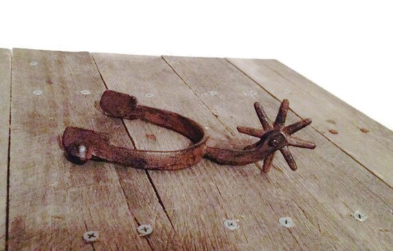 spurs spur decor country western country wedding by