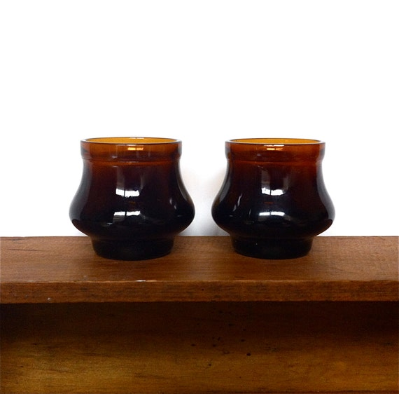 https://www.etsy.com/listing/185709884/vintage-mid-century-amber-glass-candle