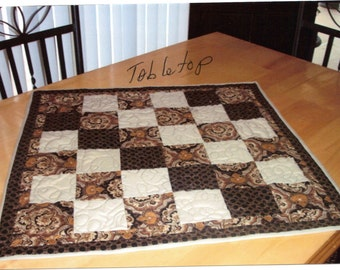 Square Tabletop Quilt