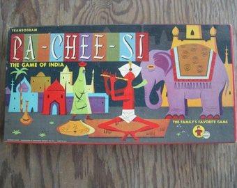 a very vintage Pa-Chee-Si Game by Transogram from 1960's