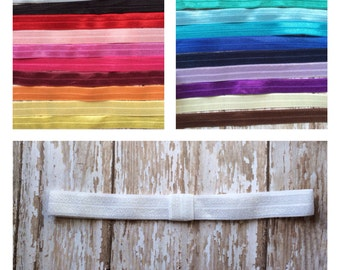 Pick 10 Interchangeable Elastic Headbands, Baby Headband, Toddler Headband, Girls Headband, Adult Headband, Custom Elastic Headband