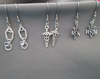 Doctor / Nurse Earrings - Your Choice