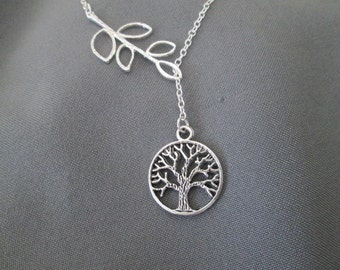 Tree of Life Lariat Necklace