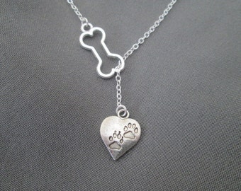 Animal Lover Necklace - Lariat Style
