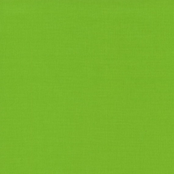 Rjr Cotton Supreme Solid Color Fabric Grass Green Color