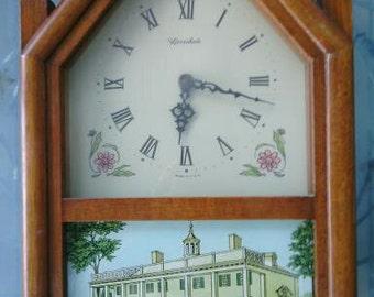 1960's Herschede Mantle Hall Clock
