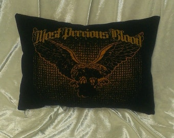 Most Precious Blood NYHC pillow