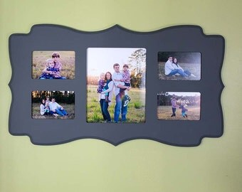 Whimsical Multi Opening Custom Wood Frame
