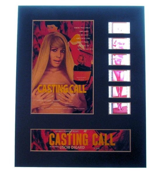 Casting Call 1971 Uschi Digard X Rated Classic Movie Frame