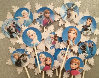 Frozen Theme Table Cloth