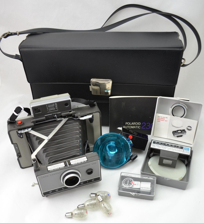 polaroid land camera automatic 100 manual