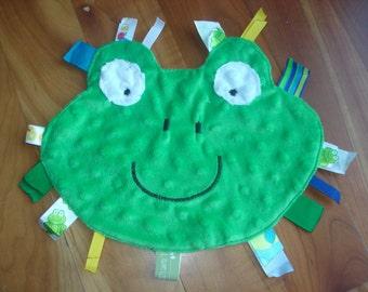 Frog Ribbon Tag Toy