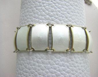 DAVID ANDERSON BRACELET: Vinrage enamel david Anderson  bracelet. Guilloche enamel antique bracelet