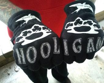 Hooligan shamrock knuckle gloves