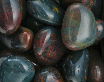 Bloodstone Tumbled Gemstone Crystal